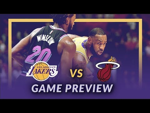 Video: Lakers Nation: Los Angeles Lakers vs Miami Heat Game Day Preview - Game 27