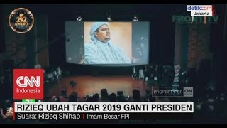 Video Rizieq Syihab Suarakan Ubah Tagar 2019 jadi Prabowo Presiden MP3, 3GP, MP4, WEBM, AVI, FLV Juni 2019