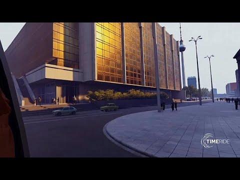 Berlin: Die Mauer ist - virtuell - wieder auferstande ...