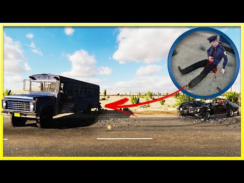 This Massive Car Crash Has A Twisted Secret - Car Crash Simulator - Accident