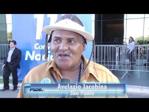 TUCANO FALA – depoimentos de militantes na chegada à Convenção Nacional do PSDB