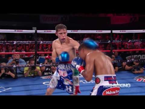 "roman ""chocolatito"" gonzalez vs carlos cuadras - highlights"