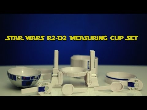 from - http://www.thinkgeek.com/11be?cpg=yt -Set of measuring cups that look like R2-D2 -Officially-licensed Lucasfilm merchandise -A ThinkGeek creation and exclusi...