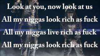 Lil Wayne ft 2Chainz Rich as F*ck lyrics