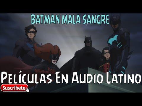 BATMAN: MALA SANGRE / Batman: Bad Blood - [2016] [Audio Latino] [BRRIP] [2 Link]