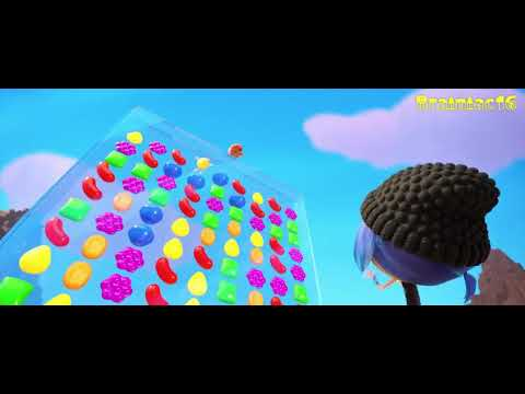 Emoji Movie. Candy Crush Land. Best scene