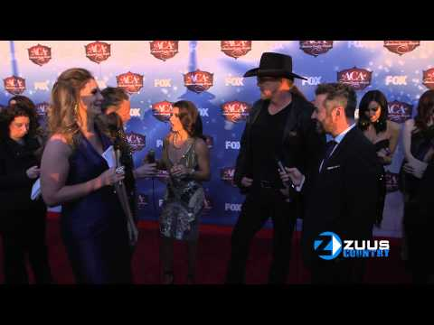 Danica Patrick / Trace Adkins ACA interview