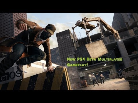 Watch Dogs PS4 Beta Multiplayer gameplay!