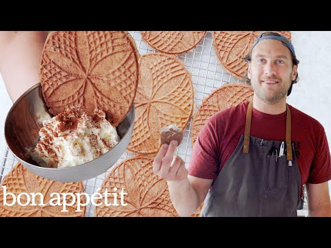 Brad Makes Sourdough Pizzelle Cookies | It's Alive | Bon Appétit