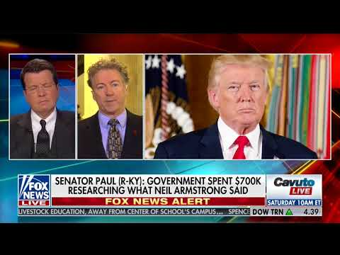 "(vid) Sen. Rand Paul 1/18/18: ""I'm for smaller government, and I'm for more American privacy"" – Bills should be separate, not all-or-nothing conglomerations"