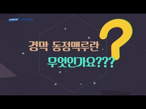 경막 동정맥루란 무엇인가요?