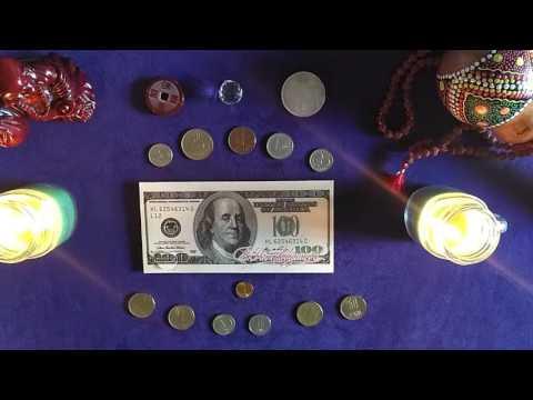 ПОЛНОЛУНИЕ 9 июня 2017. Ритуал на полнолуние - привлечение денег