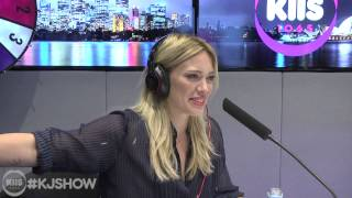 Hilary Duff On On The Kyle And Jackie O Show