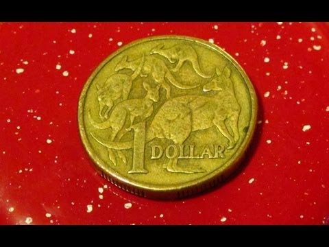 Australian Dollar Coin - The world's greatest coin flip coin with 5 tails