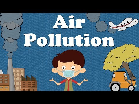 Air Pollution for Kids | #aumsum #kids #education #science #pollution