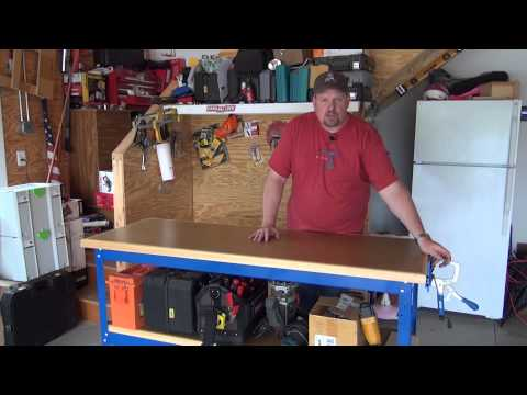workbench tools - Todd from http://www.homeconstructionimprovement.com shares his thoughts on the new Universal Work Bench from Kreg Tools. Find out why he loves this new syst...