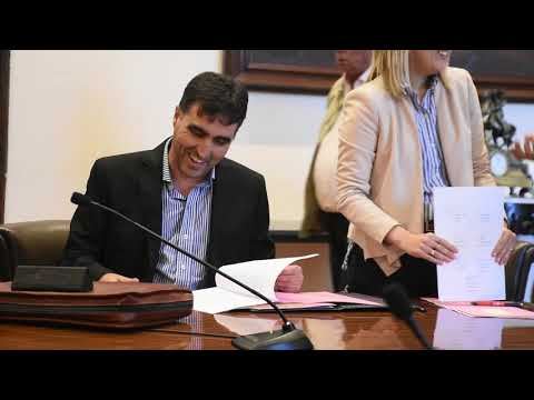 Se firmó el convenio marco entre la Unidad Alimentaria Montevideo y Salto Hortícola.