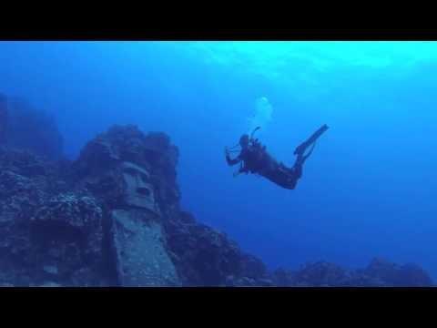 Ilha da Páscoa - Mergulhando na Ilha de Páscoa - dive easter island.