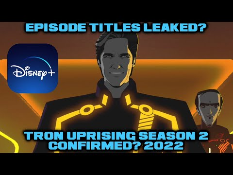 Tron Uprising Season 2 Might Be Confirmed By Disney Soon/Tron Uprising Episode Titles LEAKED?