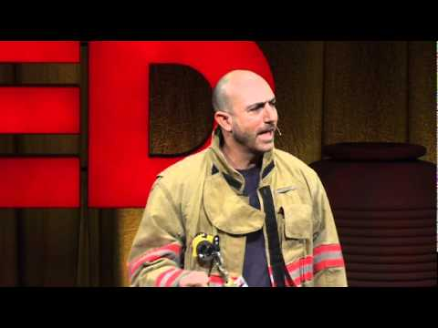This Firefighter Has an Important Life Lesson For You.