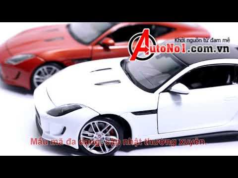 Bộ Sưu Tập Mô hình xe jaguar F Type Coupe 1:24 welly