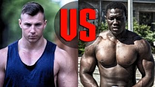 Competitive Bodybuilder Daniel Gildner is fighting against Powerlifter John Gomez from Gambia, 27years old with ambitions in...
