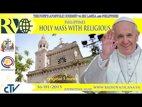 Pope Francis Holy Mass at Manila Cathedral