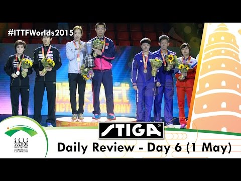 2015 World Table Tennis Championships Daily Review Day 6 presented by Stiga