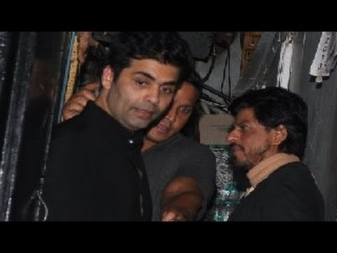 Shahrukh Khan SPOTTED partying with Karan Johar