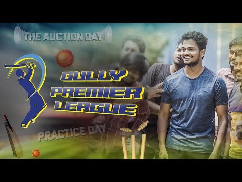 The Auction Day Episode -1 | Gully Premier League | Shanmukh Jaswanth | Infinitum Media