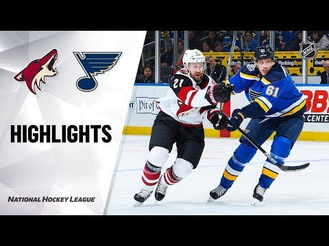 NHL Highlights  Coyotes  Blues 111219