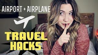 Airport & Airplane TRAVEL HACKS full download video download mp3 download music download