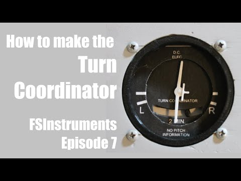 How to Build the Turn Coordinator! FSInstruments Episode 7 (Servo Version) | Captain Bob