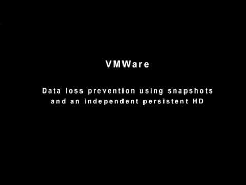 Revert snapshot failure on VMWare 5.5 - Hard drive as independent drive