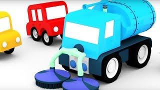 """Avec le nouveau #dessinanimé en français des 4 voitures colorées les enfants vont #apprendre les nouveaux mots concernant la #voiture, vont voir comment construire une #balayeuse, vont #apprendreàcompter jusqu'aux 4 et aussi répéter les #couleurs.LE TEXTE DU DESSIN ANIME :Regardez, il y a une gelée rose et collante sur l'aire de jeux. Ce n'est pas très facile de conduire dedans.Les petites voitures, nettoyons tout cela !Pour nettoyer une telle surface il nous faut une balayeuse. Construisons-la.La petite voiture rouge a trouvé des roues. 1, 2, 3, 4.Je me demande bien ce que la petite voiture bleue va trouver. C'est une cuve à eau.La petite voiture verte cherche les pièces du camion dans la piscine à balles.Elle a trouvé ! C'est une cabine et un canon à eau.La petite voiture jaune a décidé de chercher des pièces dans des pots avec de la gelée. Elle a trouvé le châssis.Assemblons le tout.Et voilà !Et maintenant il faut nettoyer.L'aire de jeux est toute propre maintenant. Merci, les petites voitures !La chaîne présente des dessins animés éducatifs en français #dessinaniméenfrançais pour les enfants. Ils conviennent comme aux petits francophones aussi bien à ceux qui apprennent le français #apprendrelefrancais.Abonnes-toi à la chaîne et tu ne vas plus rater nos nouvelles vidéos1. """"Construire & Jouer #construireetjouer"""" https://www.youtube.com/playlist?list=PLCXwhc0I74pWEOqmb7t_RRoSRp-goOMuZ ce sont des vidéos présentées sous forme de jeu d'assemblage: on construit des #voitures, des #avions, des #vaisseaux et d'autres #machines avec des pièces différentes. En même temps on va #apprendre les noms des pièces, les #couleurs, les #nombres et #enrichir le vocabulaire. Les #dessinsanimés sont amusants, et de plus, ils développent une intelligence spatiale d'un enfant.2. « #Déballage de jouets #déballagedejouets»https://www.youtube.com/playlist?list=PLCXwhc0I74pXgdHPx3uO0BE54p3Sxm3tfTous, on aime ouvrir les boites avec les cadeaux ou bien les nouvelles choses achetés! Ici on v"""