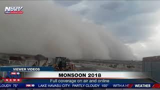 FOX 10 XTRA NEWS AT 7: Rain, hail, winds move through Phoenix area