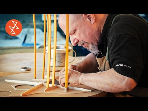 Luthier Michael Greenfield Shows How He Creates Magnificent Guitars From Simple Slices of