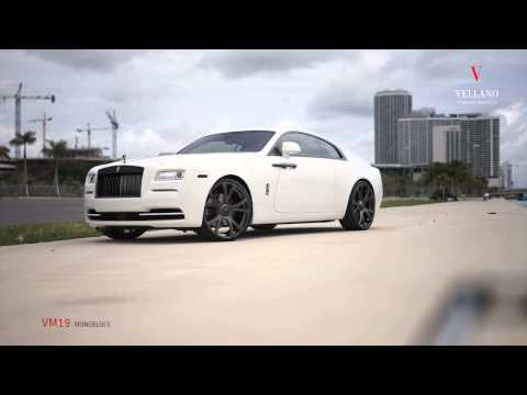 MC Customs | Rolls Royce Wraith • Vellano Wheels