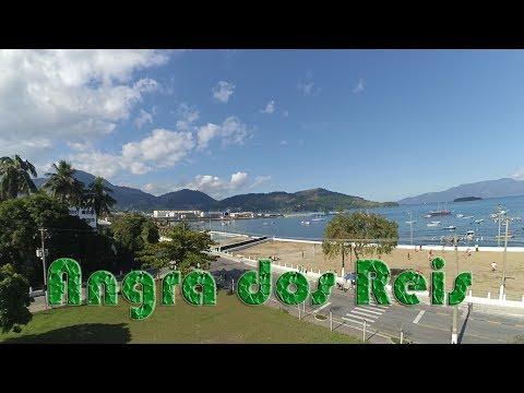 Angra dos Reis - RJ - Centro - Filmagem Aérea
