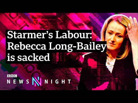Rebecca Long-Bailey sacked for sharing article with anti-Semitic conspiracy theory - BBC Newsnight