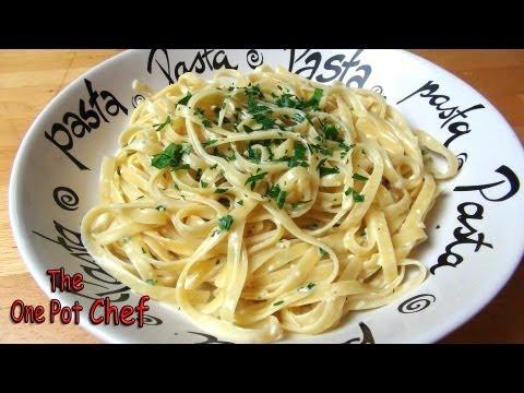 Easy Pasta Alfredo – RECIPE