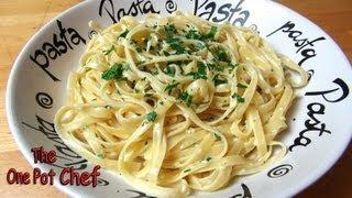 Easy Pasta Alfredo - RECIPE