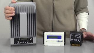 Charge Controllers Seen in This Video:12/24 Volt CMP Charge Controller: http://bit.ly/12-24CMP12/24 Volt PWM Charge Controller: http://bit.ly/12-24PWM12/24 Volt MPPT Charge Controller: http://bit.ly/12-24MPPTMISSOURI WIND AND SOLAR WEBSITEhttps://www.mwands.comSOCIAL MEDIA:FACEBOOK: https://www.facebook.com/MissouriWindandSolar/ INSTAGRAM: https://www.instagram.com/missouriwind/PINTEREST: https://www.pinterest.com/missouriwind/LINKEDIN: https://www.linkedin.com/company/missouri-wind-and-solar YELP: https://www.yelp.com/biz/missouri-wind-and-solar-seymour-2WHERE WE'RE LOCATED:332 Cobblestone DriveSeymour, Mo. 65746HOW TO CONTACT US:EMAIL: sales@mwands.comPHONE: 1-417-708-5359WHAT MAKES US DIFFERENT:Missouri Wind and Solar offers a service no other DIY wind and solar company does – system design, installation advice, and detailed personal diagrams on how to wire the system together.  You're not blindly purchasing products you *think* you might need, you're getting true customer and technical support before and after the sale.