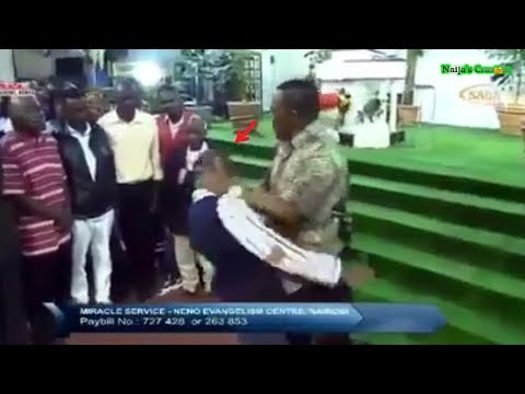 Prophet Ng'ang'a Land Anointed Slaps On Members During Deliverance
