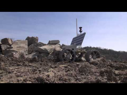 Google Lunar XPRIZE Prototype Rover; Terrestrial Testing