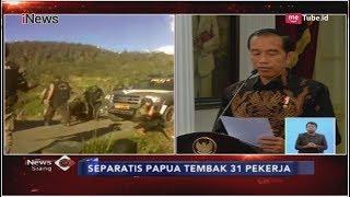 Video Jokowi Perintahkan Panglima TNI dan Kapolri Buru Seluruh Pelaku KKB Papua - iNews Siang 05/12 MP3, 3GP, MP4, WEBM, AVI, FLV Desember 2018