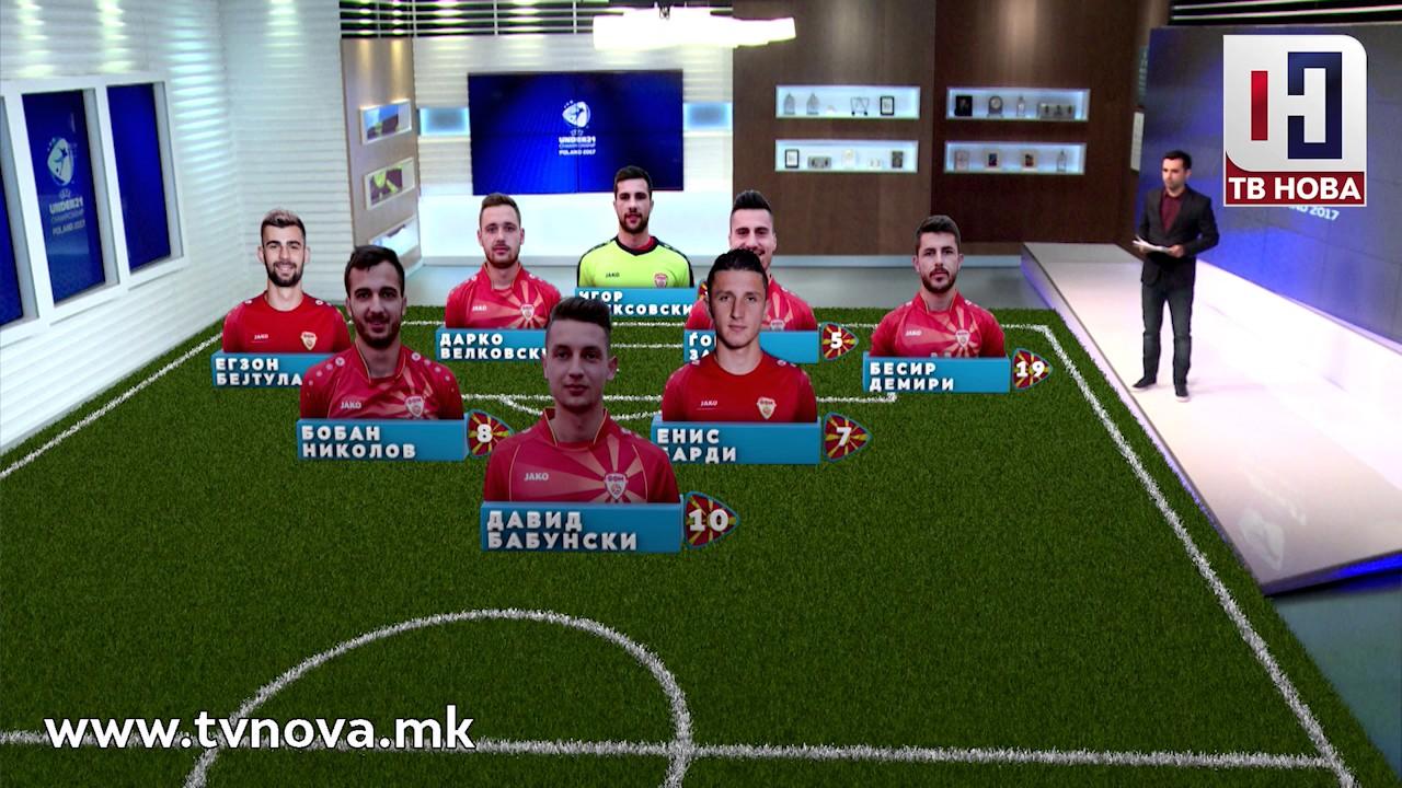 Почетен состав на фудбалската репрезентација на Македонија