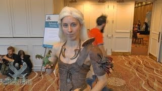 We interview Mhysa Cosplay (https://www.facebook.com/MhysaCosplay) about her cosplay that helped her win Best In Show at the Granite State Comic Con ...