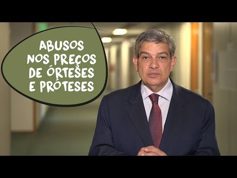Marcus Pestana: abusos nos preços de órteses e próteses