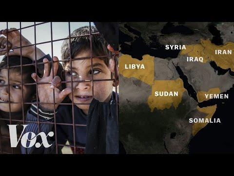 Trumpův zákaz přijímání uprchlíků